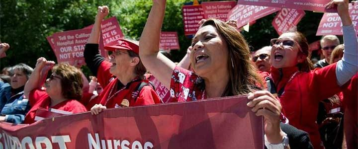 activism nurse political