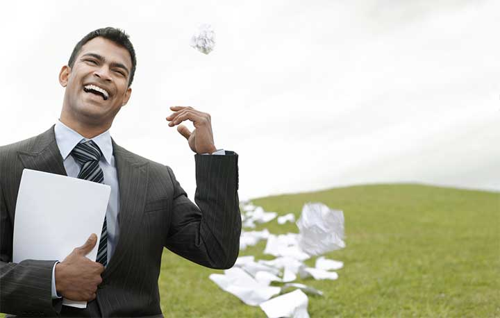 quit leave job resign