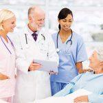 nurse pink blue white scrubs scholar grant