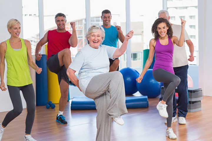 fitness exercise routine health