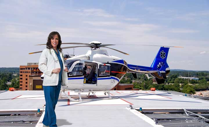 flight nurse helicopter airplane military transport career