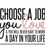 career love job