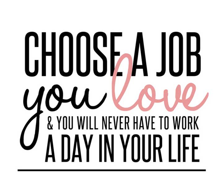 career love job