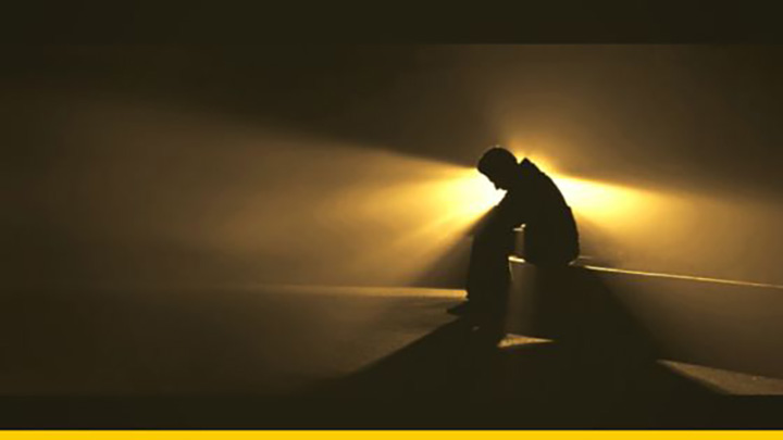 overcome grief man alone grow
