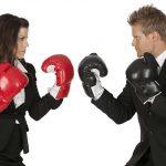 confrontation talking conversation
