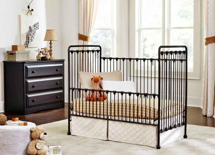crib iron bedside nurse care