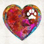 companion dog art sketch parkinsons MET