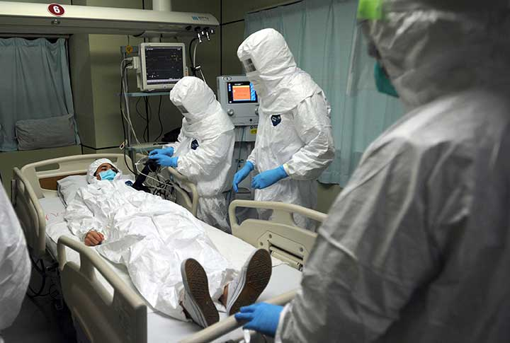nurse patient careful safety caution