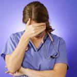 nurse grief overcome