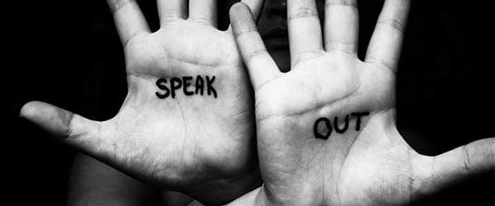 advocate advocacy speak out hands black white