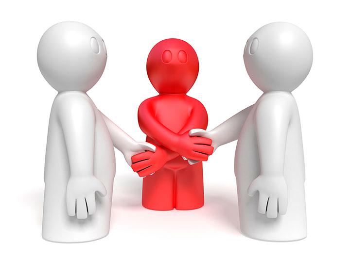 middleman nurse middle organization power leader