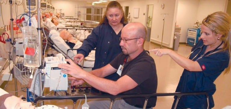 Behind the curtain: Creating an in situ simulation experience