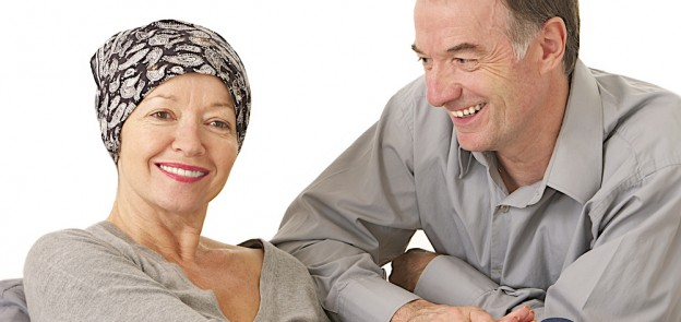 cancer patient W with husband 1
