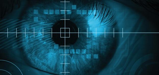 eye digital close up