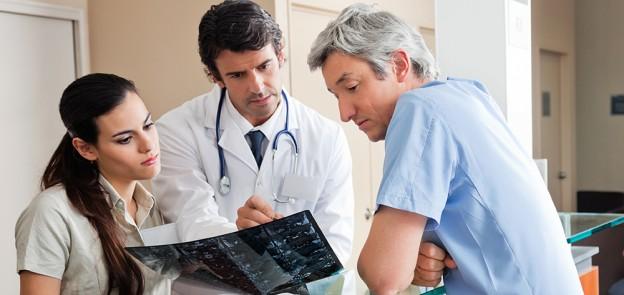 nurses with doctors
