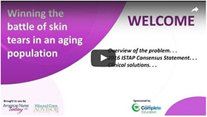 Winning the battle of skin tears in an aging population