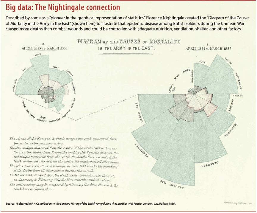Big data: The Nightingale connection