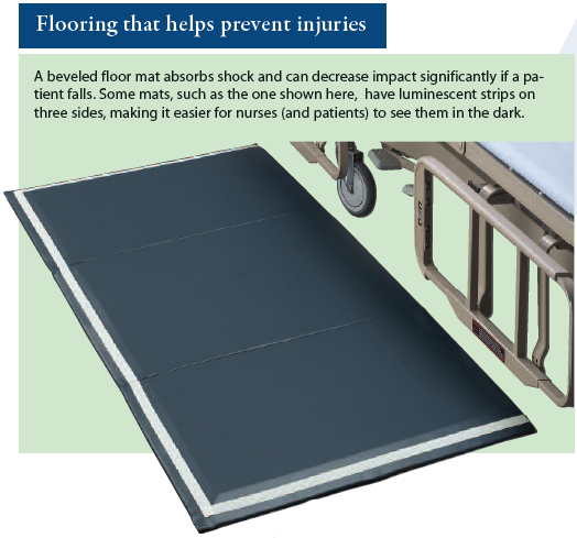 Flooring that helps prevent injuries