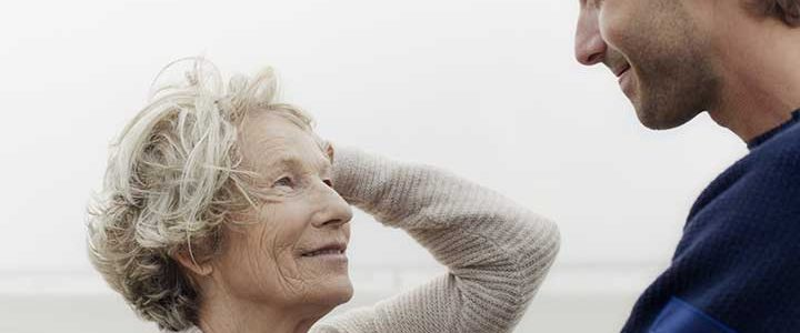geriatric geriatrics elderly old mother son
