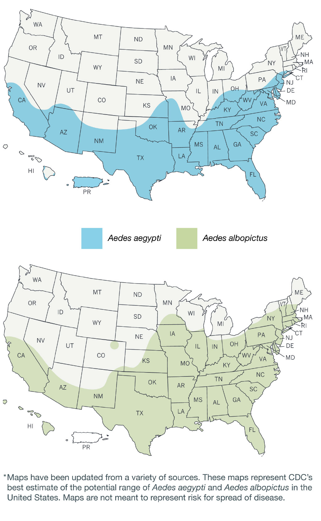 Ant0716 Ana Zika Virus Map American Nurse Today