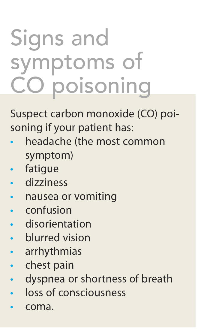 Gas Fireplace Carbon Monoxide Poisoning Symptoms Fireplaces