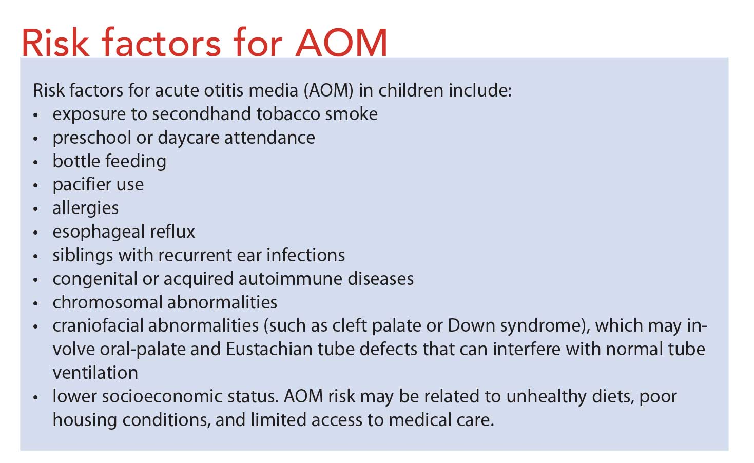 Antibiotic therapy for otitis media in adults