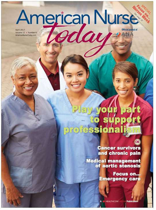 American Nurses Association Frontline April 2017