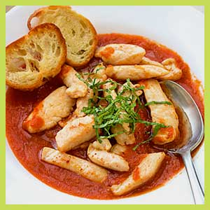 Garlic Chicken Tomato Sauce Recipe