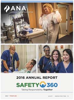 american nurse today journal frontline annual report