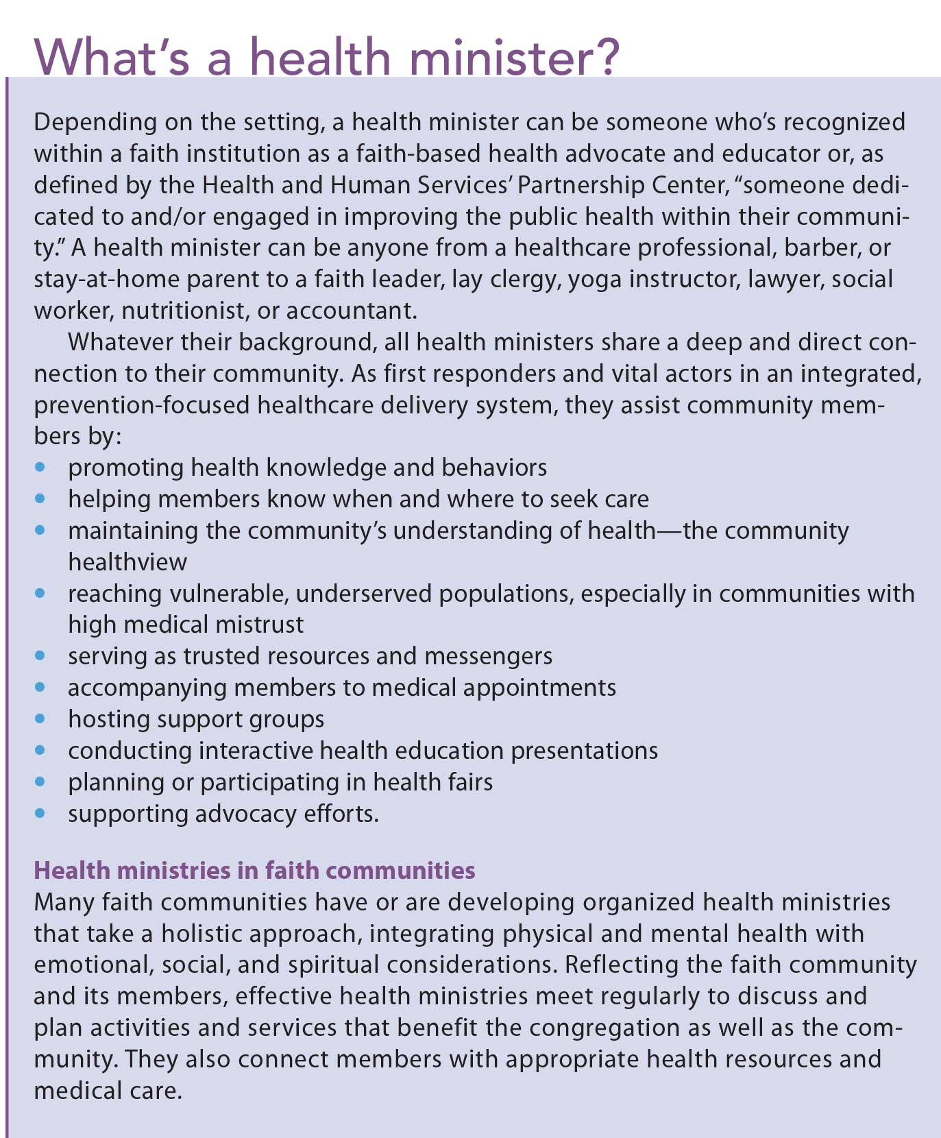 health care and faith diversity Review a peer's paper from the health care provider and faith diversity: first draft assignment your job is to critically read the assignment and make corrections/comments using track changes in microsoft word.