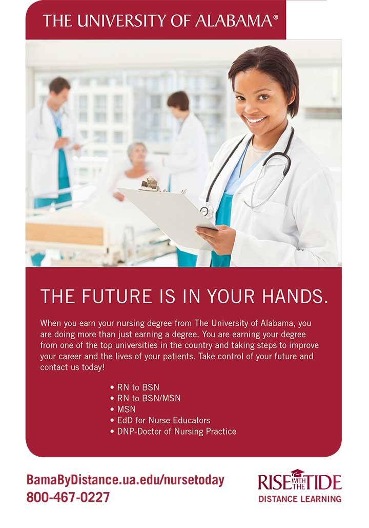 edu alabama future handspbsn rn msn nurse
