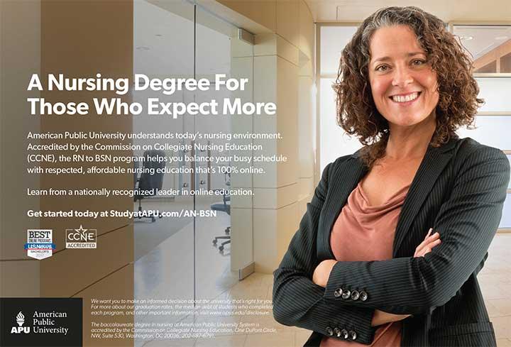 edu americanpublic university nursing degree