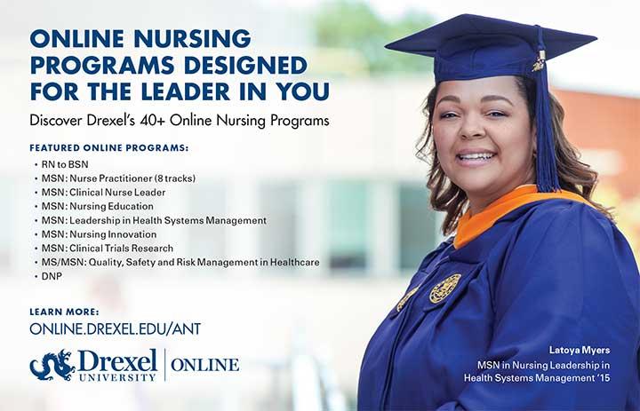edu drexel online nursing program leader