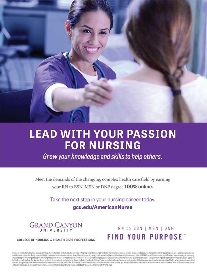 edu grand canyon lead nusre passion