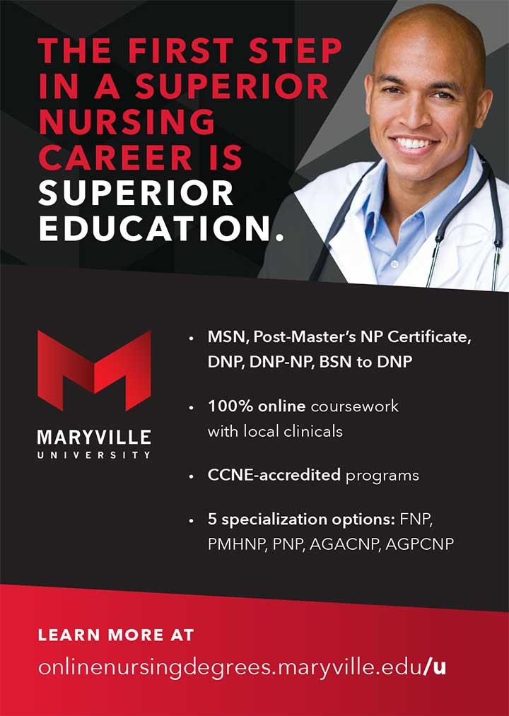 edu maryville first step superior nursing career education