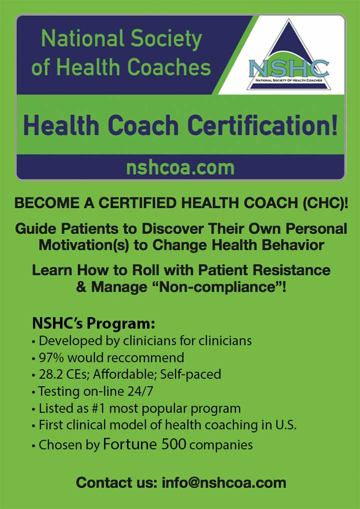edu natioanl society health coaches