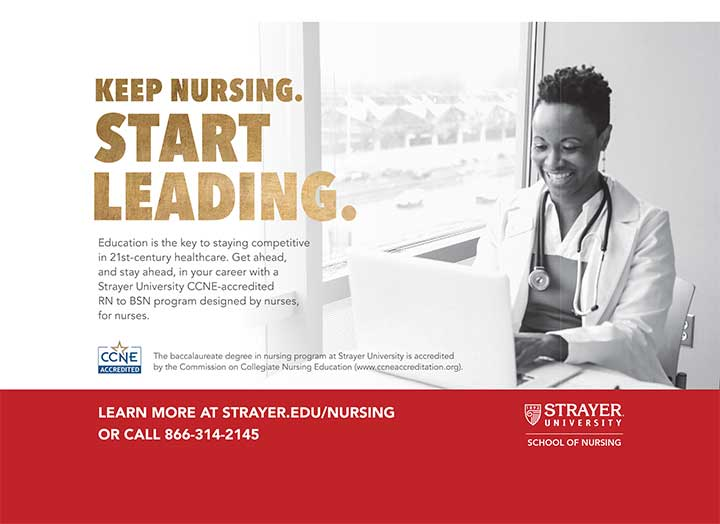 edu strayer nursing leader