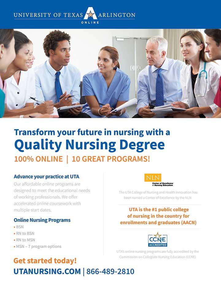 edu texas arlington nurse degree