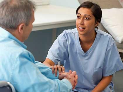 mindful nurse listening