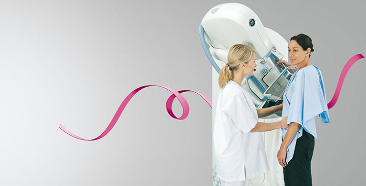 mammography device patient compression