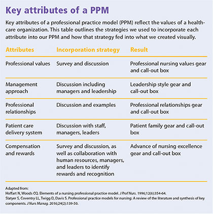 Key Attributes Ppm Adapting Professional Practice Model