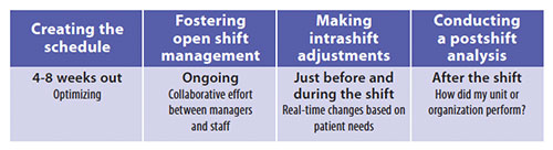 optimizing staff cno cfo