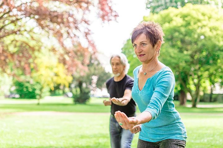 tai chi improve life preimenopause women