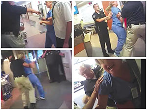 ana action police abuse registered nurse