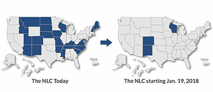enhance nurse licensure compact nlc changes