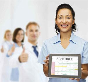 healthy schedule nurse