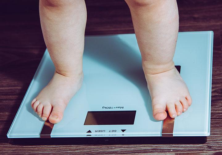 childhood child obesity trend
