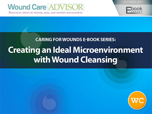 create microenvironment wound cleansing