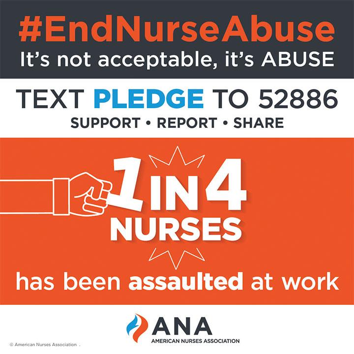 Take the pledge to #EndNurseAbuse