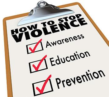 unsafe ground emergency entrance stop violence